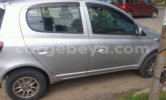 Buy Used Toyota Vitz Silver Car in Addis Ababa in Ethiopia
