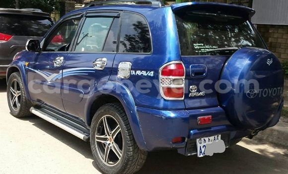 Buy Used Toyota RAV4 Blue Car in Addis Ababa in Ethiopia
