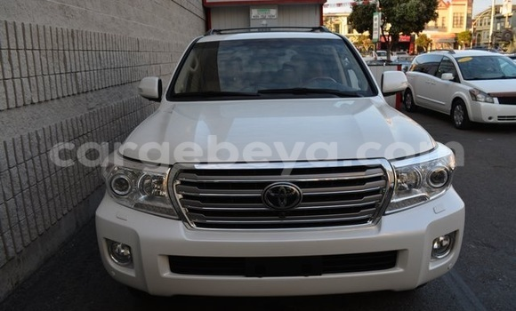 Buy Used Toyota Land Cruiser White Car in Addis Ababa in Ethiopia