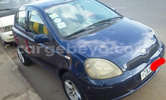Buy Used Toyota Vitz Blue Car in Addis–Ababa in Ethiopia