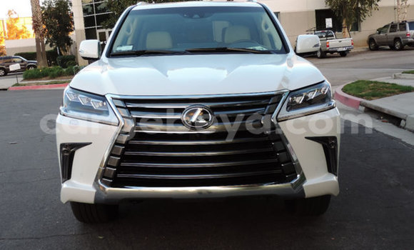 Buy Used Lexus LX White Car in Bahir–Dar in Ethiopia