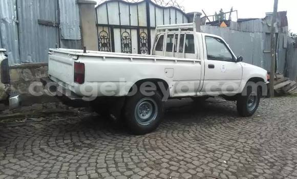 Buy Used Toyota Hilux White Car in Addis Ababa in Ethiopia
