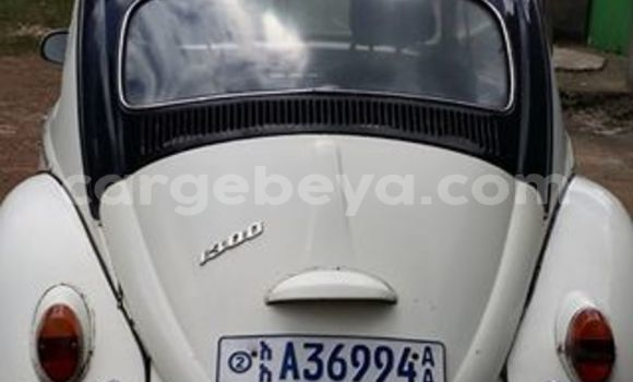 Buy Used Volkswagen Beetle White Car in Addis Ababa in Ethiopia