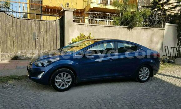 Buy Used Hyundai Elantra Blue Car in Addis Ababa in Ethiopia