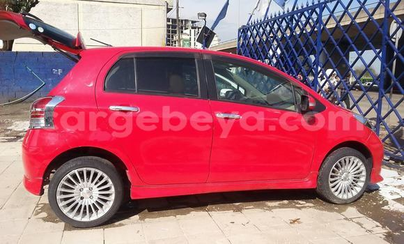 Buy Used Toyota Yaris Red Car in Addis Ababa in Ethiopia