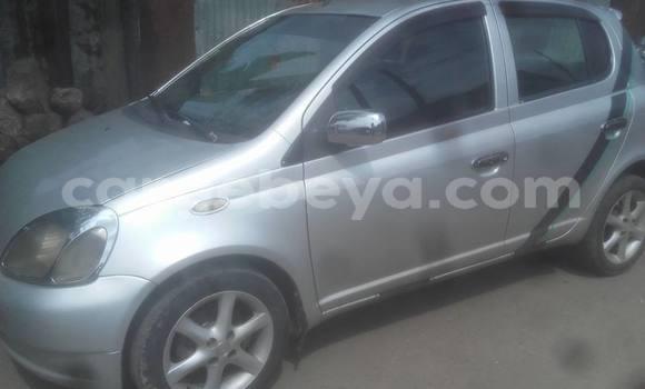 Buy Used Toyota Vitz Silver Car in Addis Ababa in Ethiopia