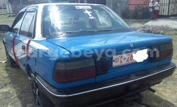 Buy Used Toyota Corolla Blue Car in Addis Ababa in Ethiopia