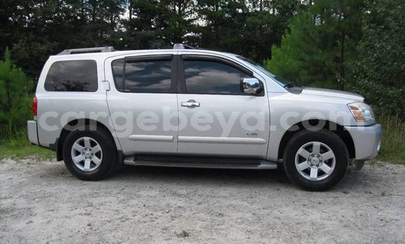 Buy Used Nissan Armada Silver Car in Addis Ababa in Ethiopia