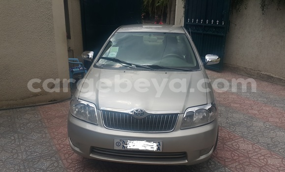 Buy Used Toyota Corolla Beige Car in Addis Ababa in Ethiopia
