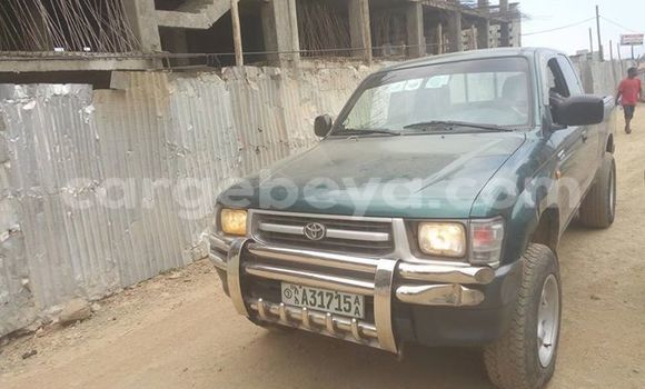 Buy Used Toyota Hilux Green Car in Addis–Ababa in Ethiopia
