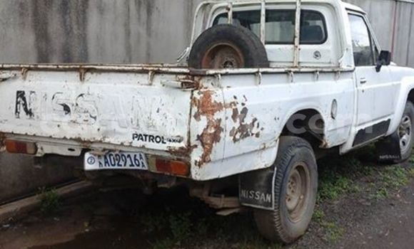 Buy Used Nissan Pickup White Car in Addis Ababa in Ethiopia