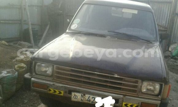 Buy Used Toyota Hilux Black Car in Addis Ababa in Ethiopia
