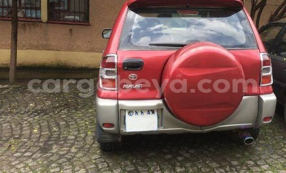 Buy Used Toyota RAV4 Red Car in Addis Ababa in Ethiopia