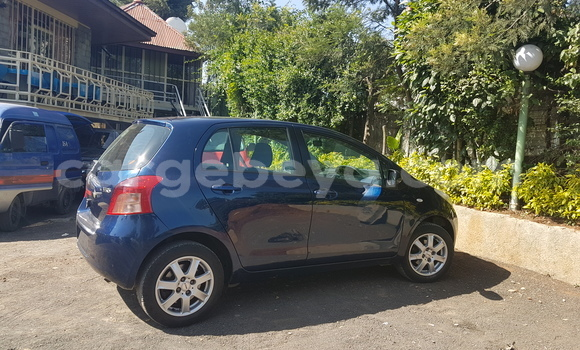Buy New Toyota Yaris Blue Car in Addis Ababa in Ethiopia