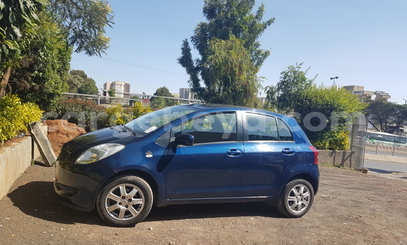 Buy New Toyota Yaris Blue Car in Addis–Ababa in Ethiopia
