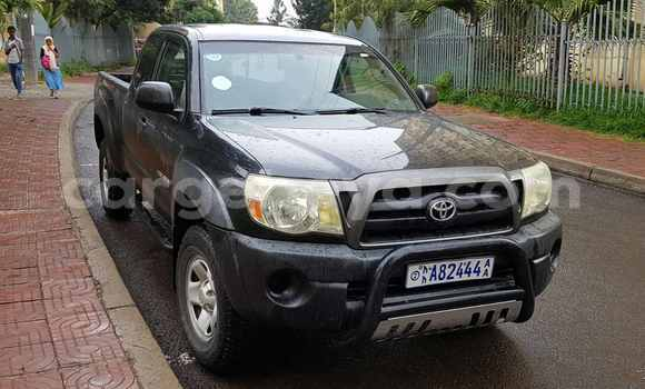 Buy Used Toyota Tacoma Black Car in Addis Ababa in Ethiopia