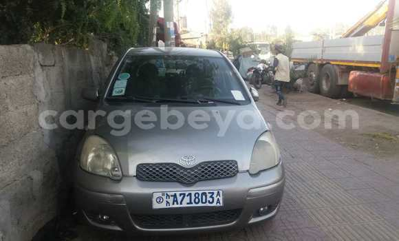 Buy Used Toyota Vitz Brown Car in Addis Ababa in Ethiopia