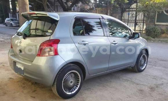 Buy Used Toyota Vitz Silver Car in Mekele in Ethiopia