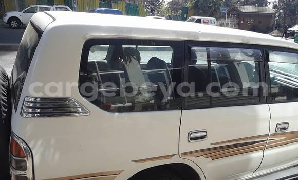 Buy Used Toyota Land Cruiser Prado White Car in Mekele in Ethiopia