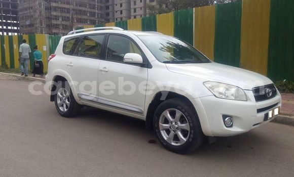 Buy Used Toyota RAV4 Silver Car in Addis–Ababa in Ethiopia