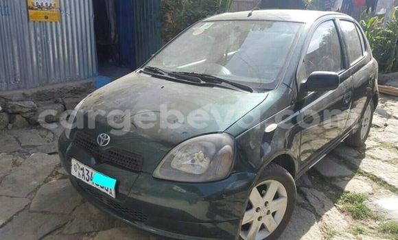 Buy Used Toyota Vitz Green Car in Addis–Ababa in Ethiopia