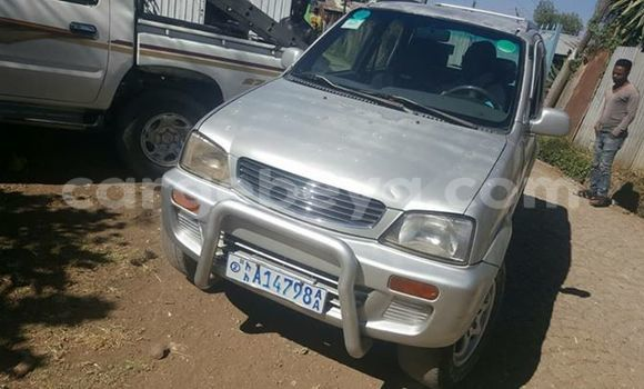 Buy Used Daihatsu Teriose Silver Car in Addis–Ababa in Ethiopia