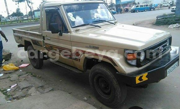 Buy Used Toyota Land Cruiser Beige Car in Addis–Ababa in Ethiopia