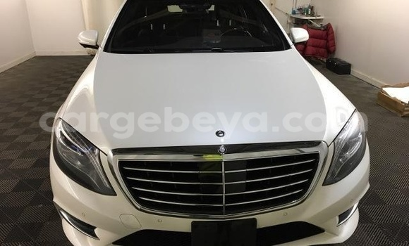 Buy Used Mercedes‒Benz S-Class White Car in Addis–Ababa in Ethiopia