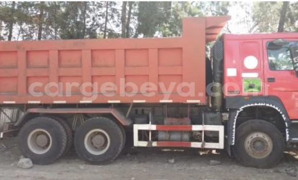 Buy Used Sino Howo Red Truck in Harar in Ethiopia