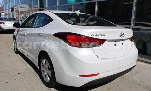 Oofamaa Hyundai Elantra White Makiinaa iti Addis–Ababa keessatti Ethiopia keessatti