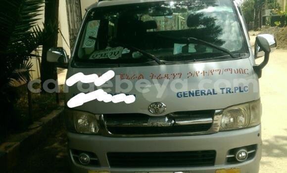 Buy Used Toyota Hiace Silver Car in Addis–Ababa in Ethiopia