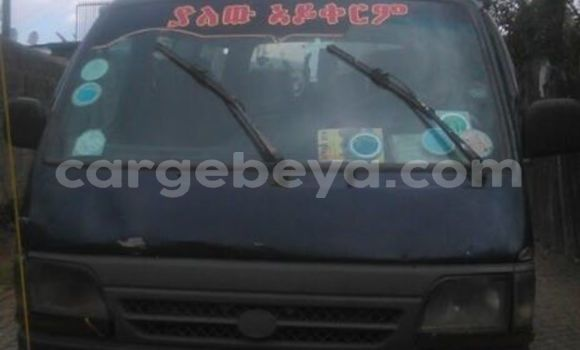 Buy Used Toyota Hiace Black Car in Addis–Ababa in Ethiopia
