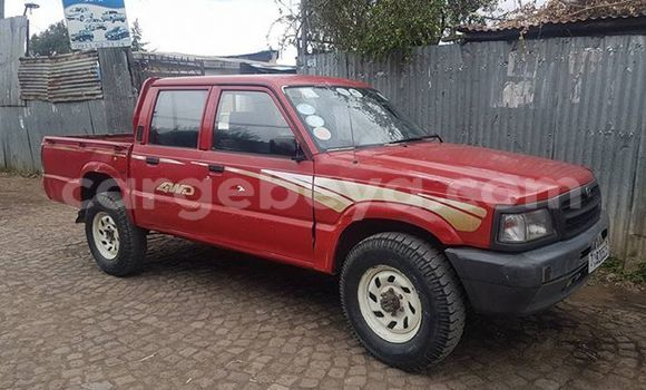 Buy Used Mazda B–series Red Car in Addis–Ababa in Ethiopia