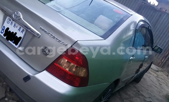 Buy Used Toyota Corolla Beige Car in Addis–Ababa in Ethiopia