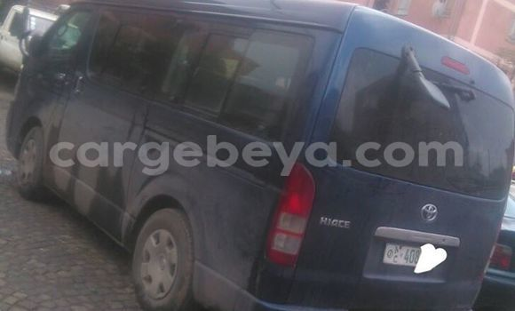 Buy Used Toyota Hiace Blue Car in Addis–Ababa in Ethiopia