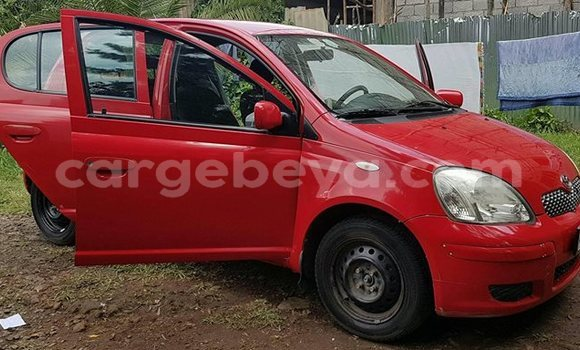 Buy Used Toyota Yaris Red Car in Addis–Ababa in Ethiopia