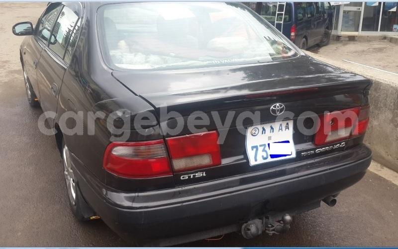 Buy Used Toyota Carina Black Car In Addis Ababa In Ethiopia Cargebeya