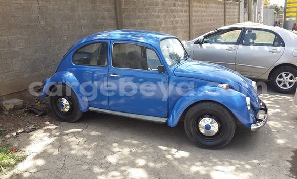 Buy Used Volkswagen Beetle Blue Car in Addis–Ababa in Ethiopia