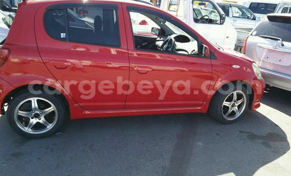Buy Used Toyota Vitz Red Car in Addis–Ababa in Ethiopia