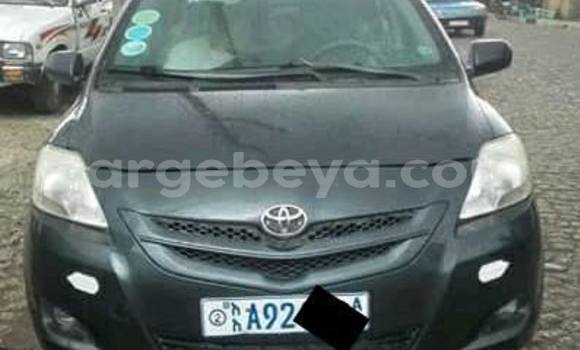 Buy Used Toyota Belta Black Car in Addis–Ababa in Ethiopia