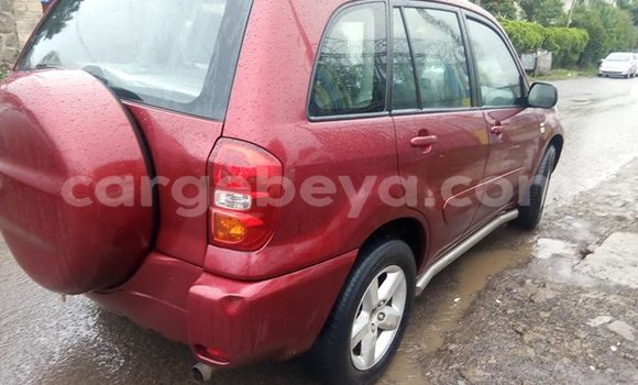 Buy Used Toyota RAV4 Red Car in Addis–Ababa in Ethiopia