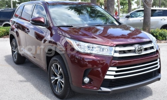 Buy Used Toyota Highlander Red Car in Abomsa in Oromia