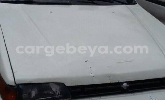 Buy Used Nissan Sunny White Car in Addis–Ababa in Ethiopia