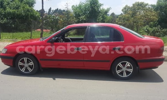Buy Used Toyota Carina Red Car in Addis–Ababa in Ethiopia