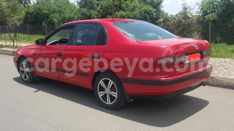 Buy Used Toyota Carina Red Car In Addis Ababa In Ethiopia Cargebeya