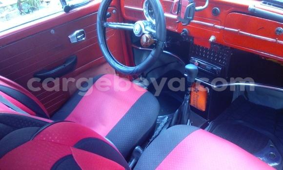Buy Used Volkswagen Beetle Red Car in Addis–Ababa in Ethiopia