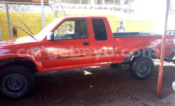 Buy Used Toyota Pickup Red Car in Addis–Ababa in Ethiopia