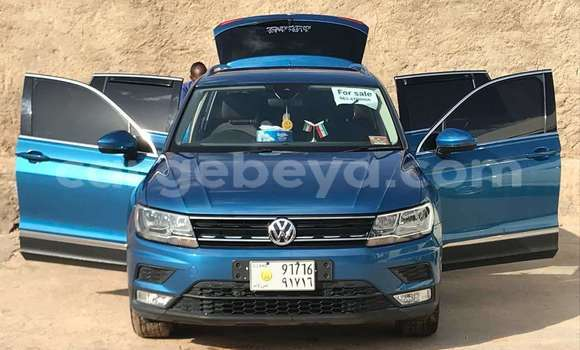 Buy Used Volkswagen Touareg Blue Car in Jigjiga in Jigjiga