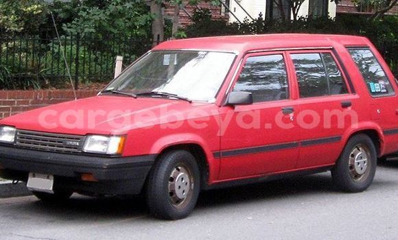 Buy Used Toyota Tercel Red Car in Addis–Ababa in Ethiopia