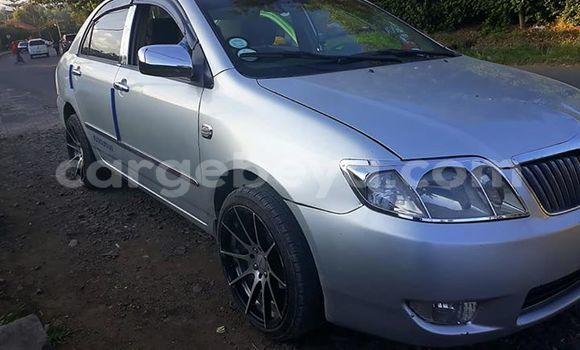 Oofamaa Toyota Corolla Silver Makiinaa iti Addis–Ababa keessatti Ethiopia keessatti